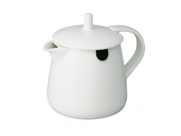 White Teabag Teapot